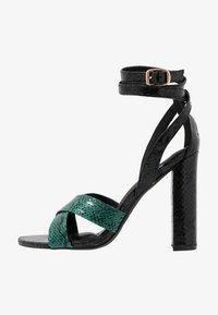 co wren wide fit - Sandály na vysokém podpatku - green - 1