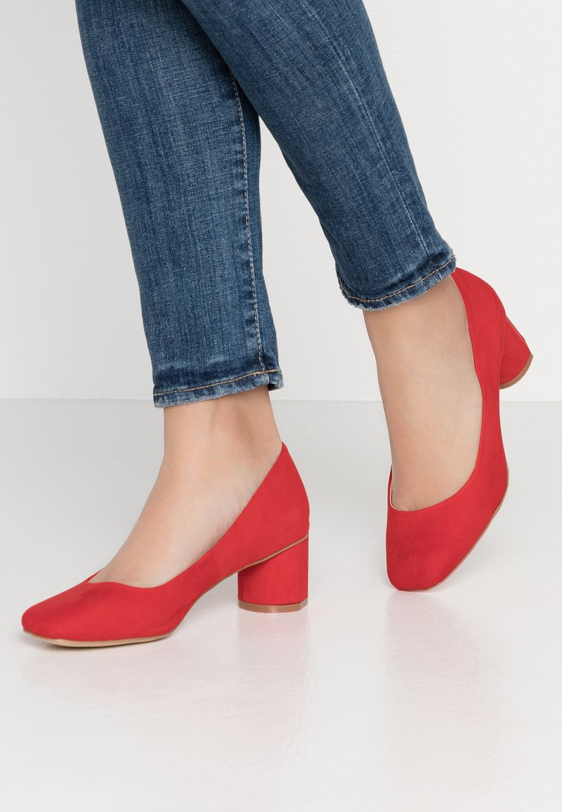 co wren wide fit - Classic heels - red