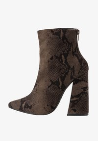 co wren wide fit - High heeled ankle boots - green - 1