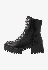 co wren wide fit - WIDE FIT - Platform ankle boots - black - 1