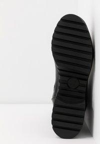 co wren wide fit - WIDE FIT - Platform ankle boots - black - 6