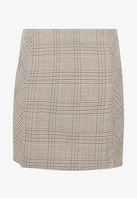 Cotton On Curve - ASPEN CHECK MINI SKIRT - Mini skirt - sarah tortoise - 3