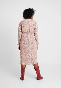 Cotton On Curve - WILLOW WRAP MIDI DRESS - Day dress - brown - 3