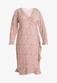 Cotton On Curve - WILLOW WRAP MIDI DRESS - Day dress - brown - 5
