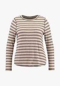Cotton On Curve - GIRLFRIEND LONG SLEEVE - Long sleeved top - nicola multi/camel - 4