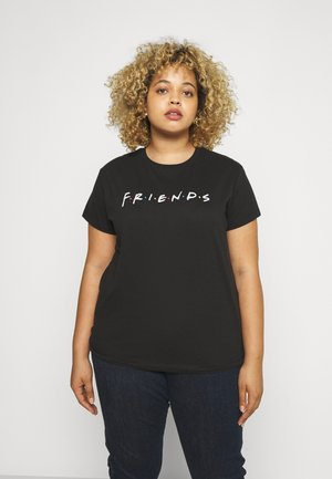 GRAPHIC LICENSE TEE - T-shirt imprimé - black