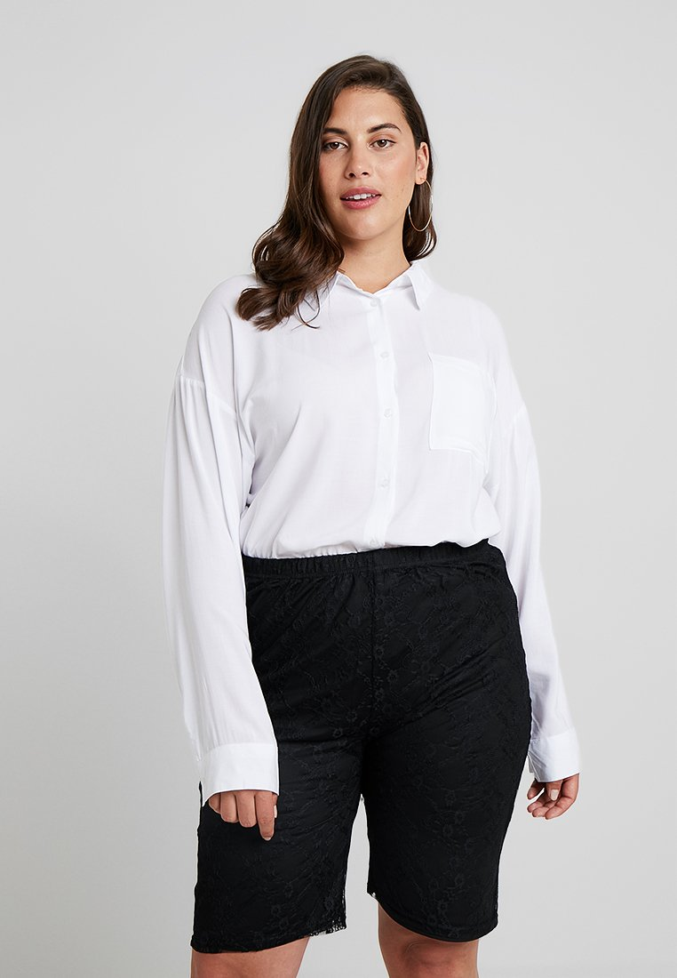 Cotton On Curve - OVERSIZED - Skjortebluser - white