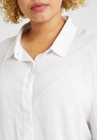 Cotton On Curve - CURVE EVERYDAY - Overhemdblouse - white - 5