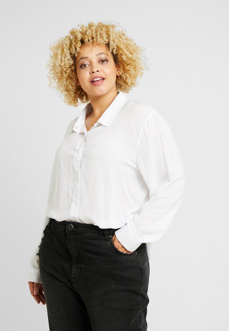 Cotton On Curve - CURVE EVERYDAY - Overhemdblouse - white