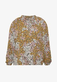 Cotton On Curve - CURVE MOCK NECK FRILL SLEEVE - Bluser - multi-coloured - 5