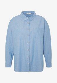 Cotton On Curve - LUCY - Button-down blouse - light blue wash - 4