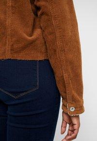 Cotton On Curve - GIRLFRIEND JACKET - Chaqueta fina - brushetta sherpa - 5