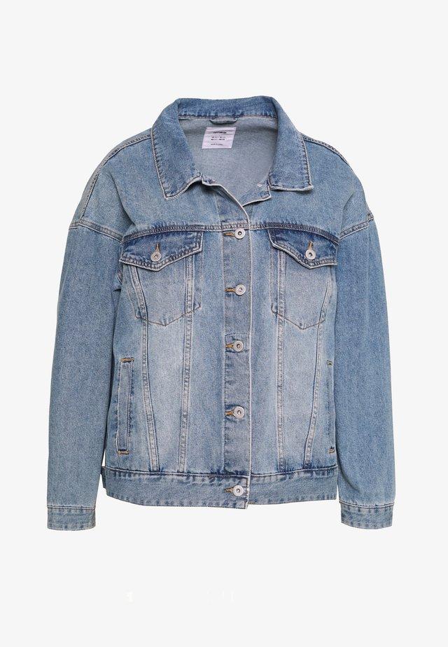 CURVE BOYFRIEND JACKET - Jeansjacka - new vintage blue