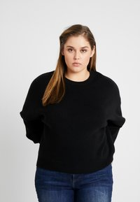 Cotton On Curve - JUMPER - Pullover - black - 0