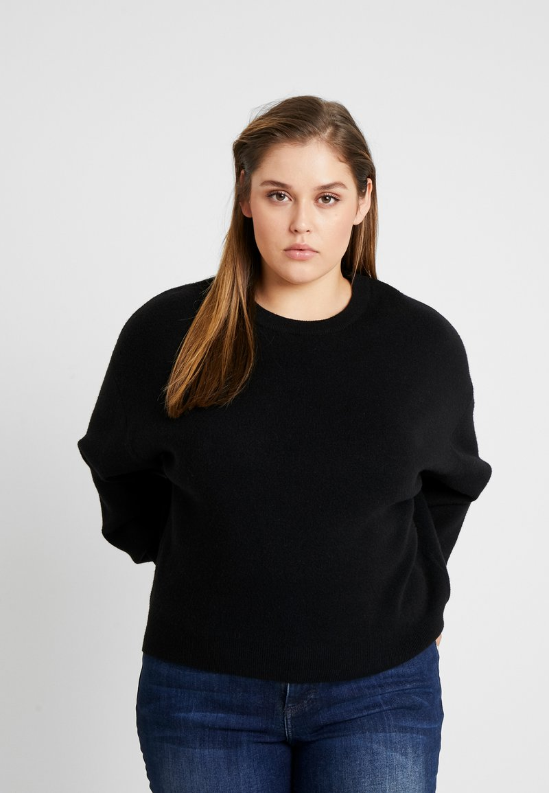 Cotton On Curve - JUMPER - Pullover - black