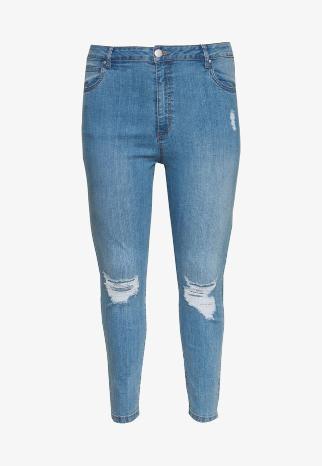 ADRIANA HIGH - Jeans Skinny Fit - bleach blue