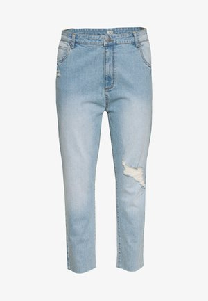 CURVE TAYLOR MOM - Jeans relaxed fit - blue rip