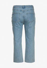 Cotton On Curve - STRETCH HIGH RISE - Jeans straight leg - boston blue - 1
