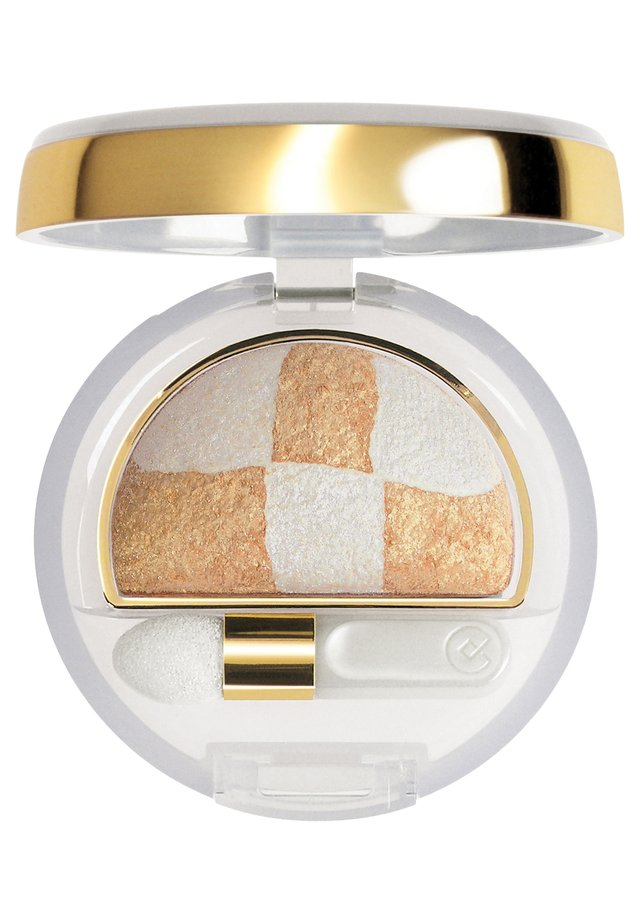 DOUBLE EFFECT EYESHADOW WET&DRY - Lidschatten - n.23 gold/white