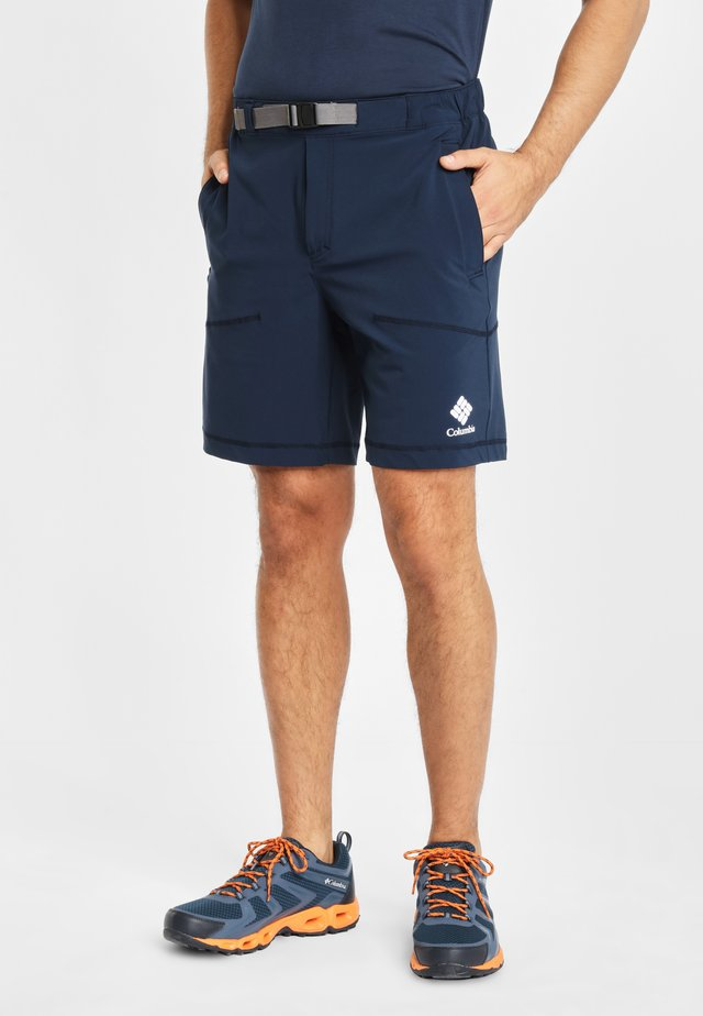 COLUMBIA WOVEN SHORT MEN'S COLUMBIA LODGE WOVEN SHORT - Shorts - collegiate navy