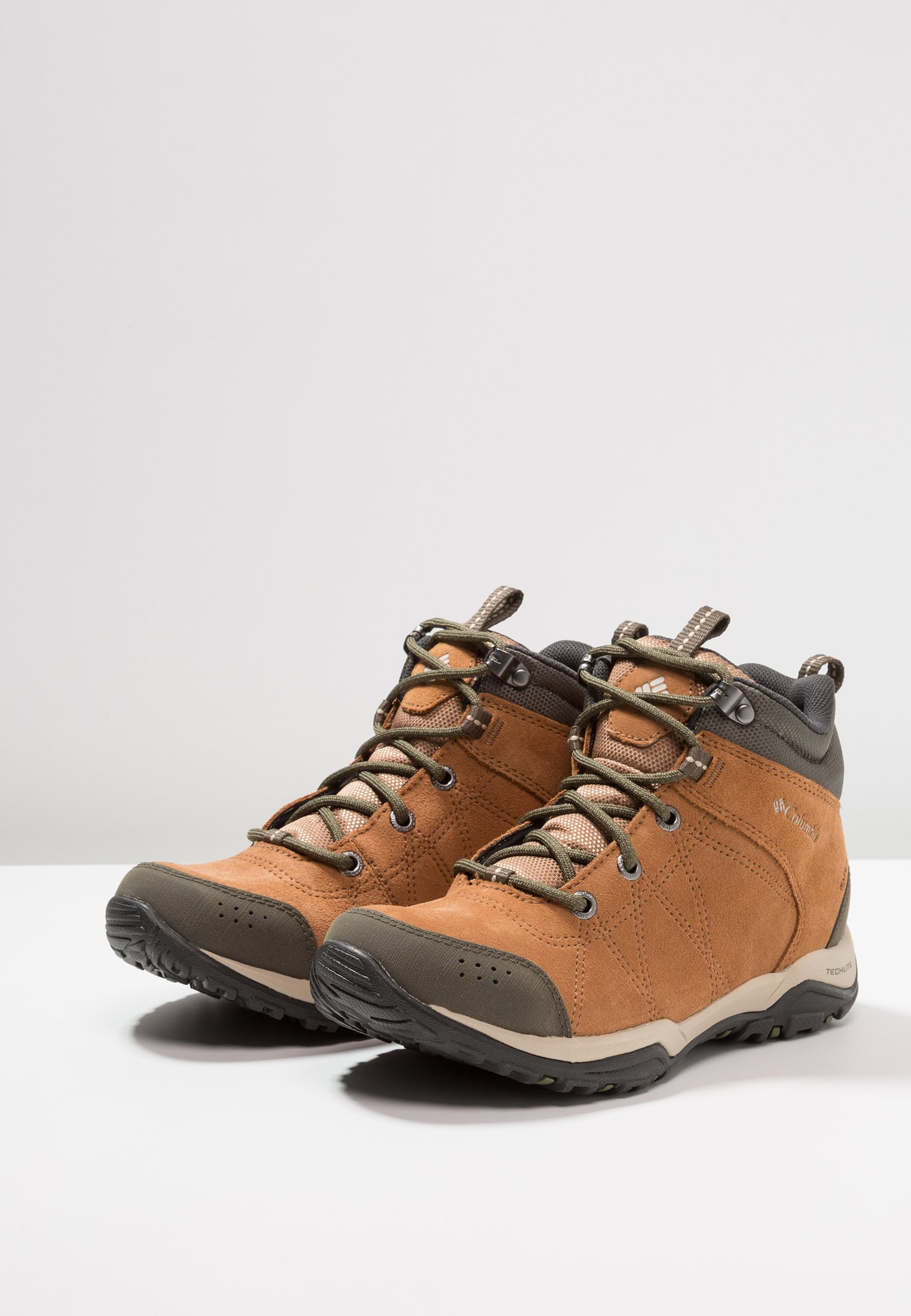 Venture Columbia Fire WaterproofChaussures Marche Elk De Fossil Mid ancient H2WIDE9