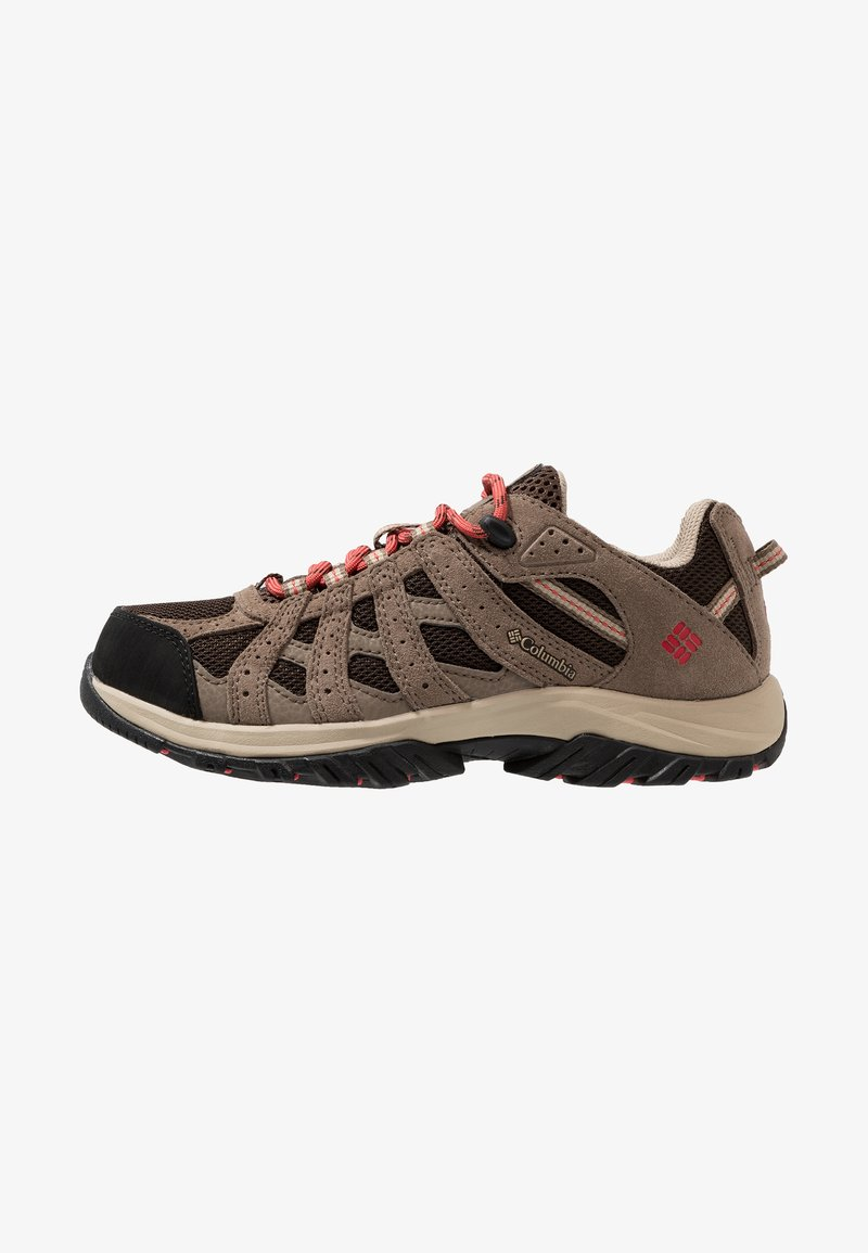 Columbia - CANYON POINT WATERPROOF - Hikingschuh - cordovan/sunset red