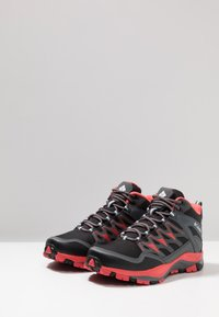 Columbia - WAYFINDER MID OUTDRY - Scarpa da hiking - black/red coral - 2