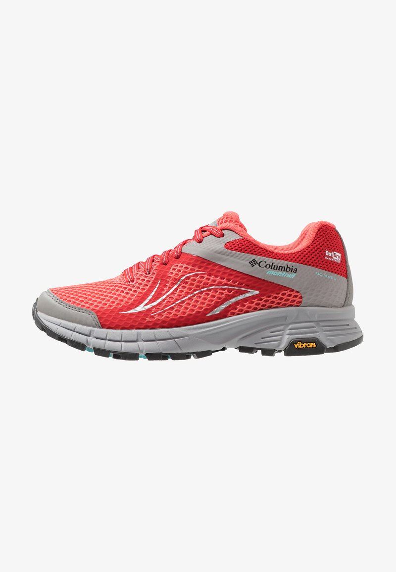 Columbia - MOJAVE TRAIL II OUTDRY - Trail running shoes - red coral/iceberg