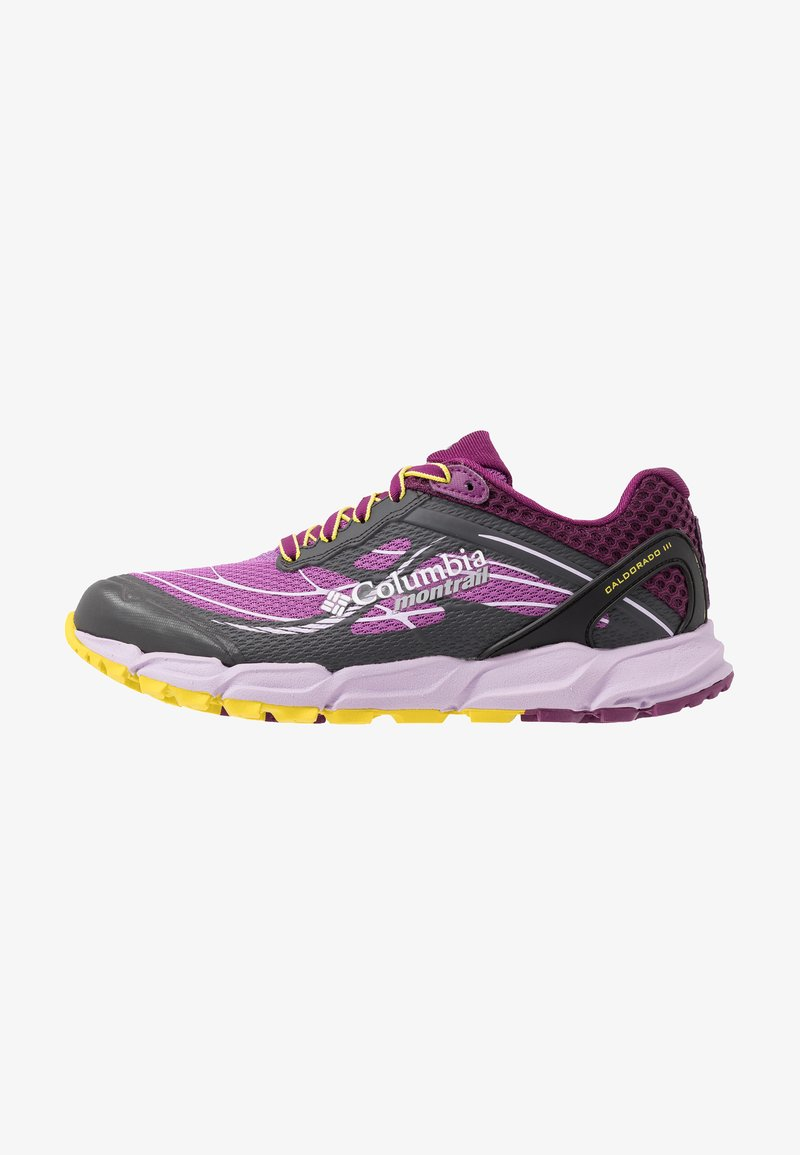 Columbia - CALDORADO III - Trail running shoes - crown jewel/ginkgo