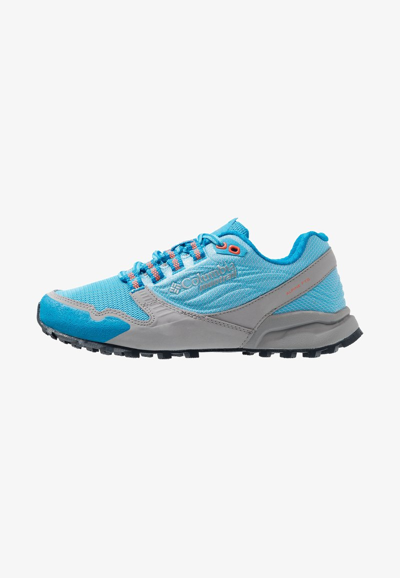 Columbia - ALPINE FTG - Trail running shoes - riptide/zing