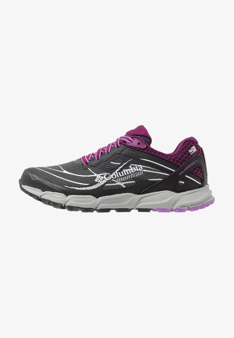 Columbia - CALDORADO III OUTDRY - Trail running shoes - graphite/crown jewel