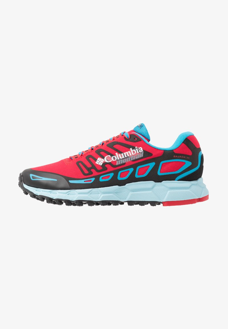 Columbia - BAJADA III WINTER - Laufschuh Trail - red camellia/blue chill
