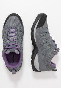 Columbia - REDMOND V2 WP - Scarpa da hiking - ti grey steel/plum purple - 1