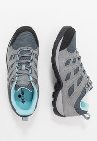 Columbia - REDMOND V2 - Outdoorschoenen - graphite/blue - 1