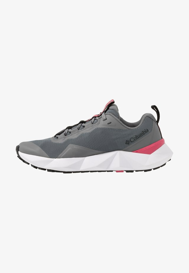 FACET15 - Hiking shoes - grey steel/rouge pink