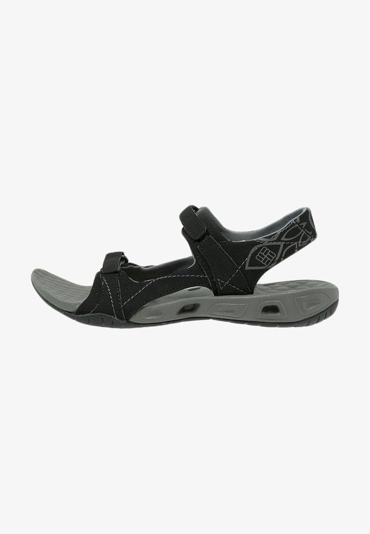 Columbia - SUNLIGHT VENT - Walking sandals - black/charcoal