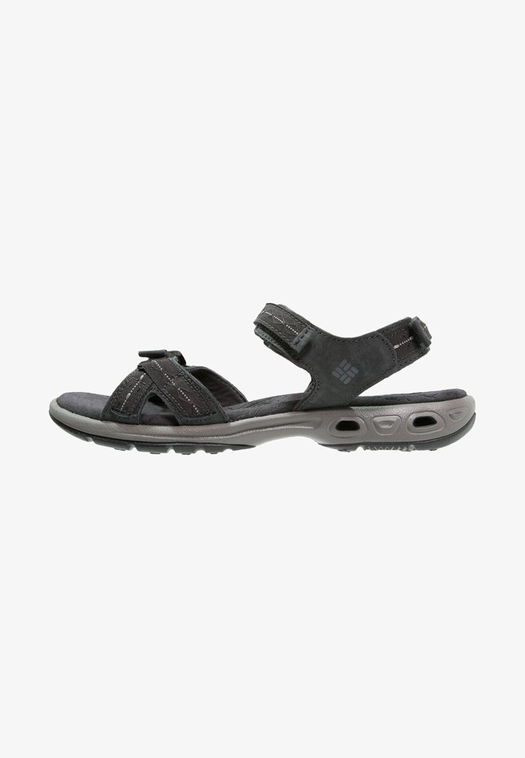 Columbia - KYRA VENT II - Walking sandals - shark/light grey