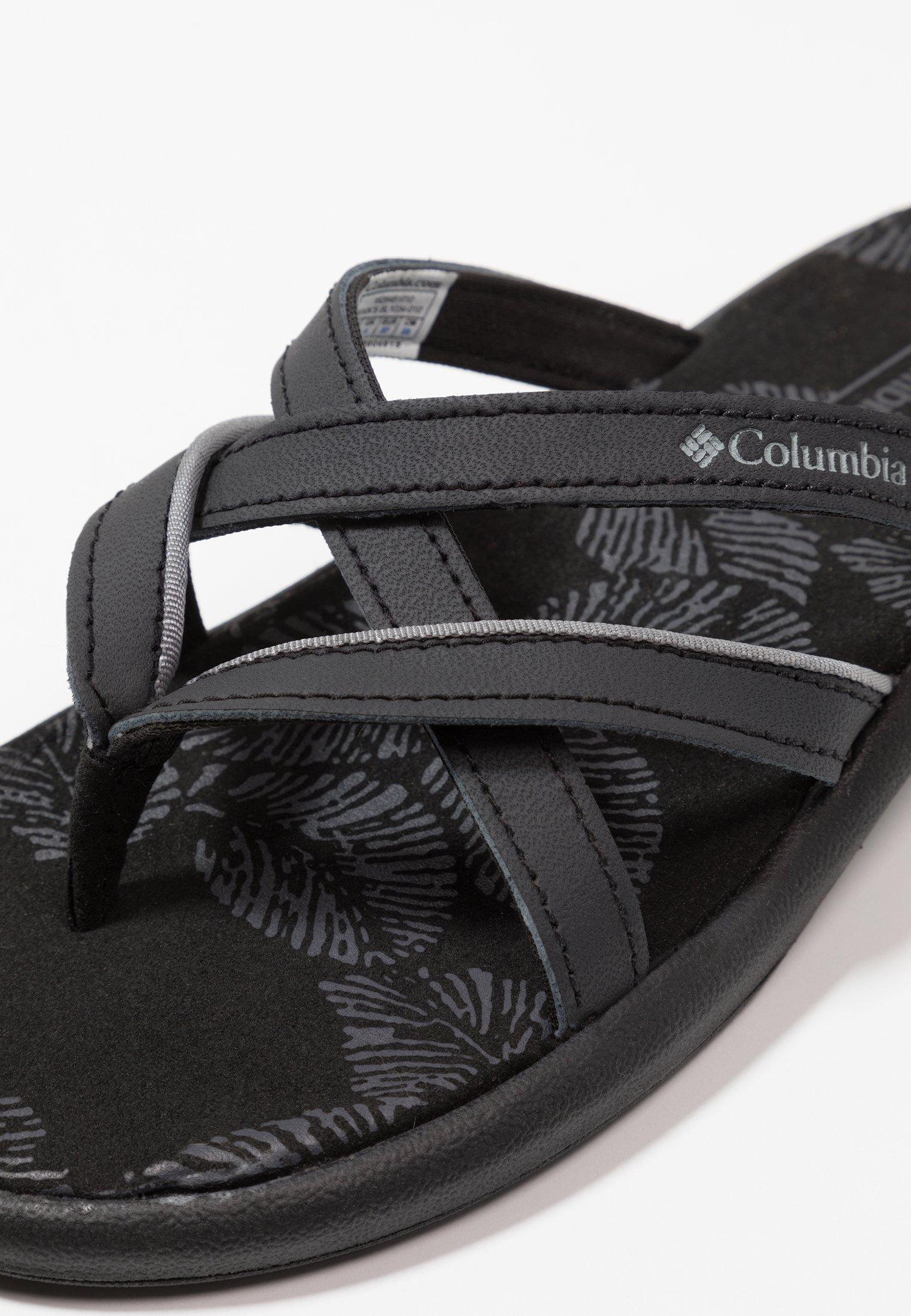 Columbia Kambi Ii - Sandales De Randonnée Black/grey Steel