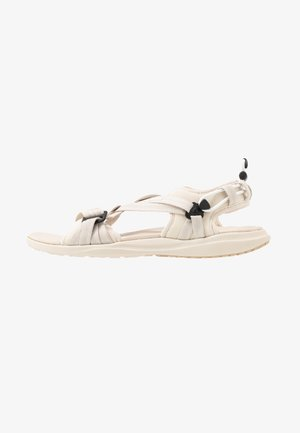 Walking sandals - fawn/white