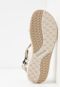 Columbia - Outdoorsandalen - fawn/white - 4