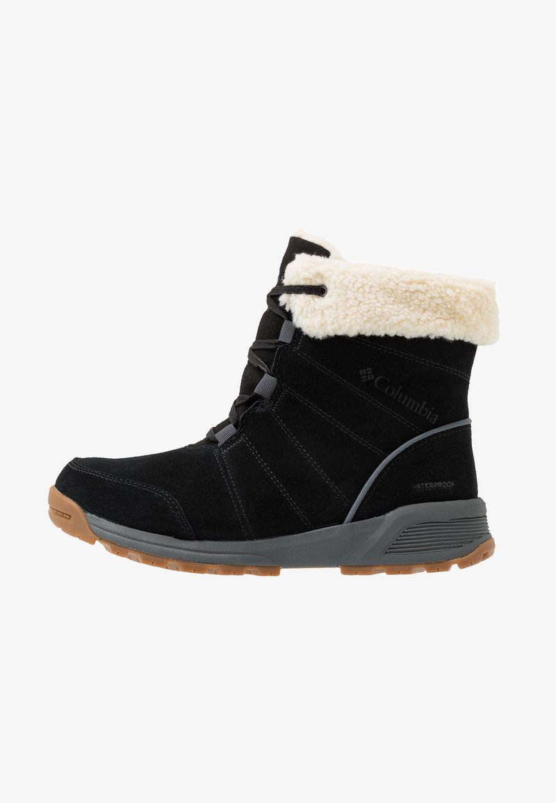 Columbia - MARAGAL WP - Winter boots - black/graphite