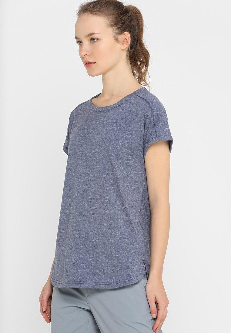 Columbia - PILSNER PEAK™ TEE - Basic T-shirt - nocturnal