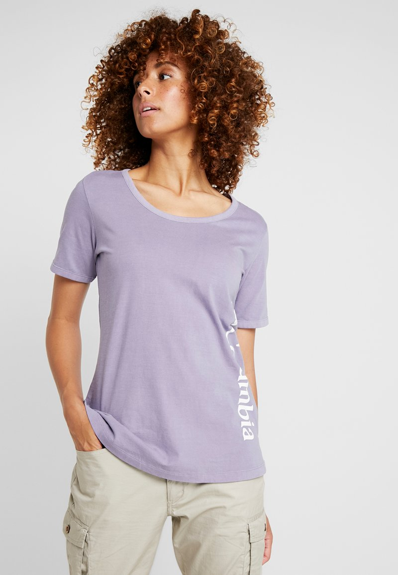 Columbia - CSC™ PIGMENT TEE - T-Shirt print - dusty iris