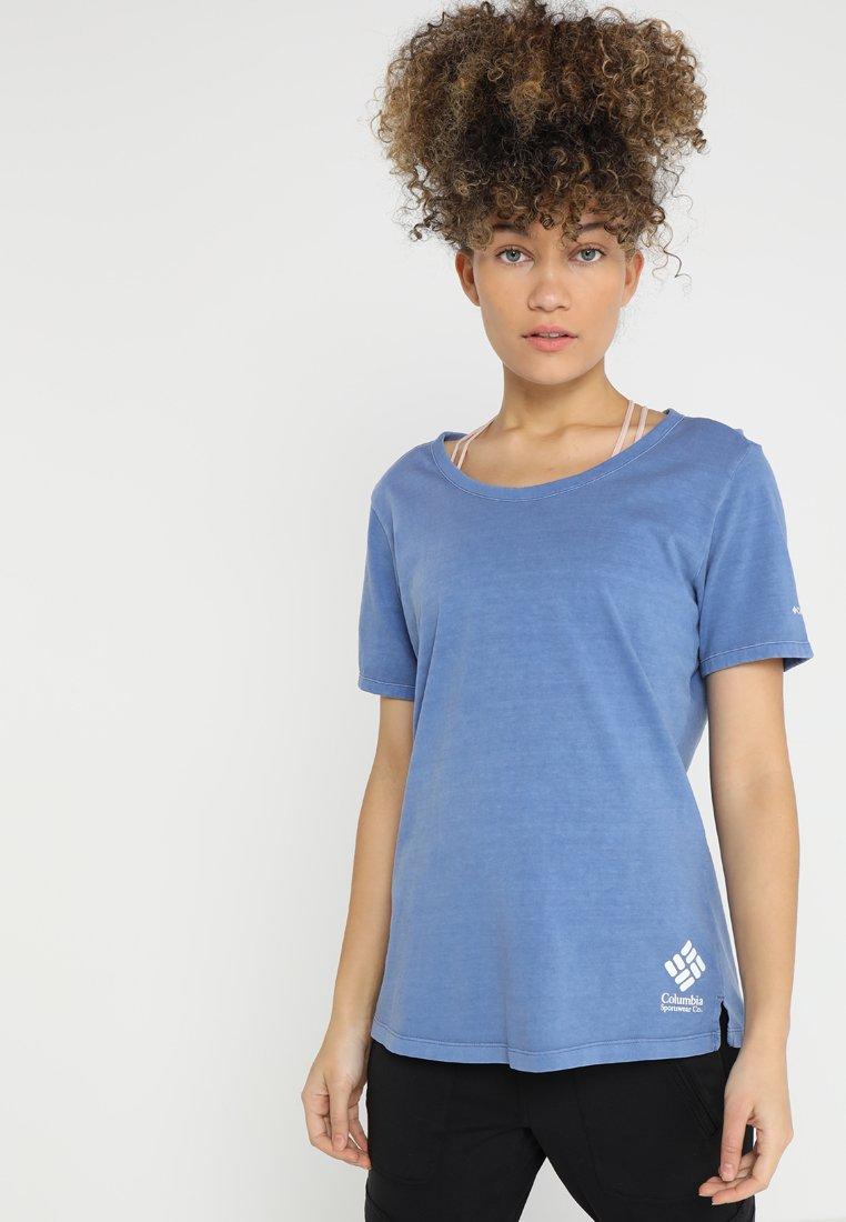 Columbia - CSC™ PIGMENT TEE - T-Shirt print - blue dusk