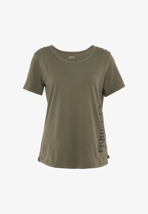 CSC™ PIGMENT TEE - T-Shirt print - olive green