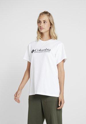 NORTH CASCADES TEE - T-shirt con stampa - white/black
