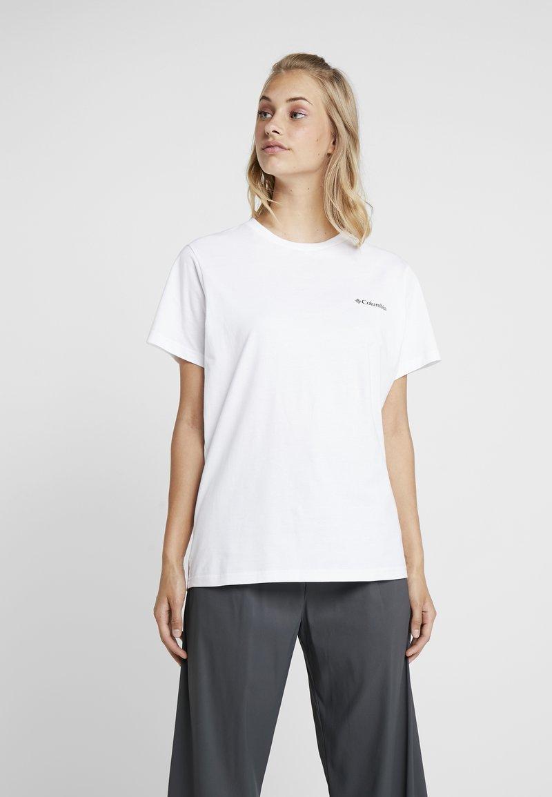 Columbia - NORTH CASCADES TEE - T-Shirt print - white