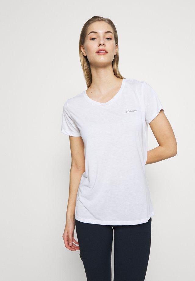 LAVA LAKE™ TEE - T-Shirt basic - white