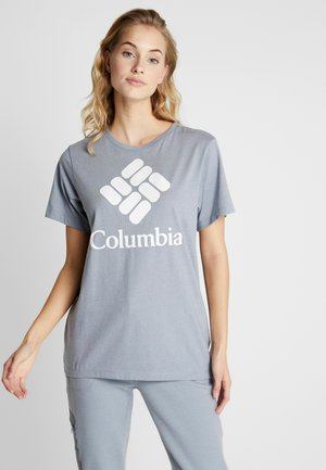 PARK™ RELAXED TEE - Print T-shirt - treadwinds grey heather