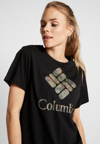 Columbia - PARK™ RELAXED TEE - Print T-shirt - black - 4